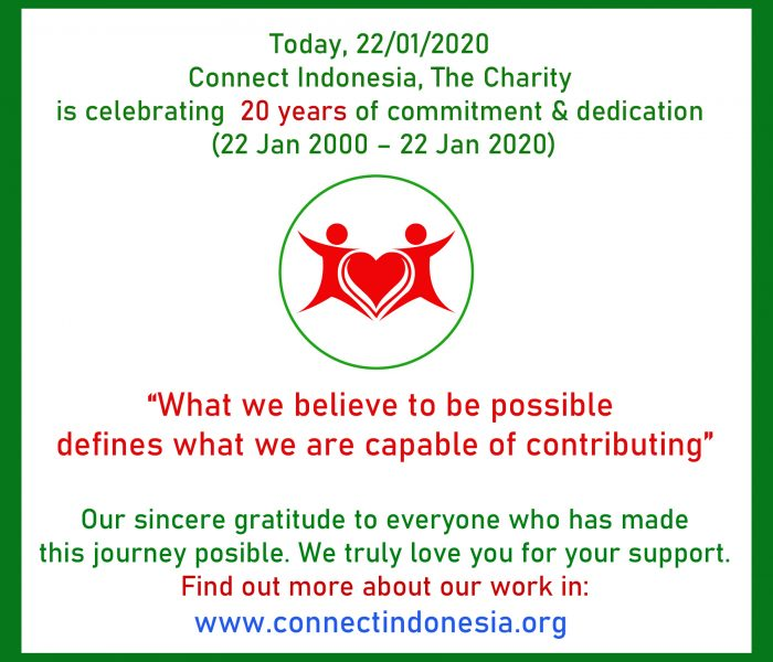 20 years strong today, 22nd January 2020